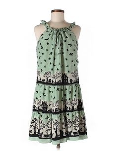 Check it out - Anna Sui For Anthropologie Silk Dress for $53.99 on thredUP!