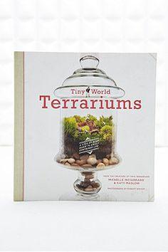 Livre Tiny World Terrariums