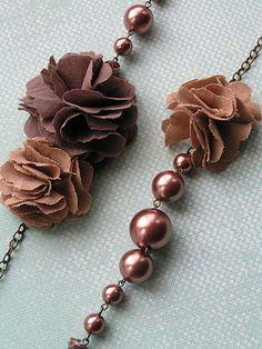 Handmade Rosette Jewelry