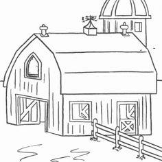 dessin à colorier maison #coloriage #dessin