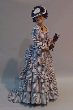 Kat's Buccaneers Bustle Gown
