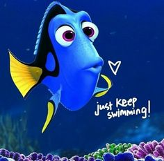 Dory-just keep swimming Finding nemo Iphone 5 Wallpaper, Disney Wallpaper, Wallpaper Quotes, Iphone Backgrounds, Pin It, Dory Just Keep Swimming, Swimming Funny, Swimming Pictures, Finding Nemo