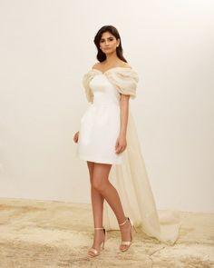 Elegant Modern Silk Wedding Dresses for 2022 Brides – Zoe Rowyn Bridal – Bridal Musings 17