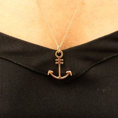 #Ahoy me hearties!!!! ⚓️ Heres something a little #fun and different from Selini Jewellery! ⚓️⚓️⚓️⚓️⚓️⚓️⚓️⚓️⚓️⚓️⚓️ This #cute 18ct #rosegold #pendant is a #bespoke design and holds #sentimental value for one of our cherished clients!  It's simplistic and #pretty and we #LOVE it!!! ⚓️⚓️⚓️⚓️⚓️ #selinijewellery #photooftheday #jewellery #business #bling #ThursdayFunDay #nautical