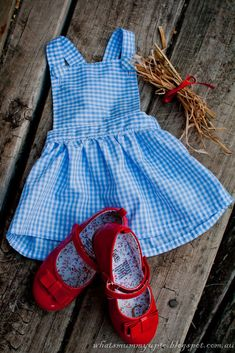 Wizard of Oz Dorthy Dress free pattern