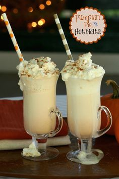 Pumpkin Pie Hot Chata is the taste of fall and the perfect sip for a cool evening. simplysated