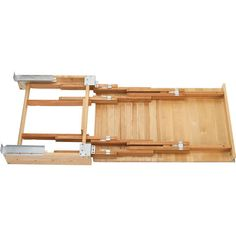 pullout laundry table in a cupboard | Rev-A-Shelf Wood Pull Out Table for Kitchen or Desk Cabinet with Free ...