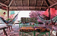kleurrijke veranda om weg te dromen.........zo GEWELDIG!!