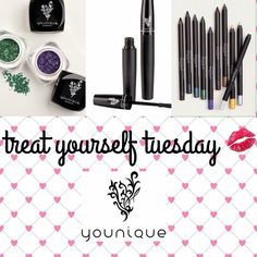 Good morning! Today is Treat Yourself Tuesday...so go ahead and try Younique. You will LOVE IT!!! Link in profile!!!