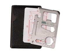 Stainless Steel Credit Card Survival Tool, Valentine's Day Gifts for Coworkers,