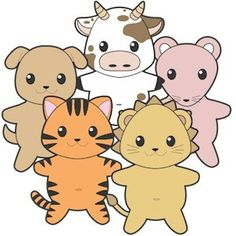We have developed a whole series of Printable Buddy Pet Paper Dolls Color to inspire play and conversation. These are also a great project for Kids to prac