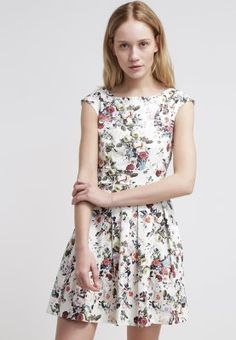 Closet - Sukienka letnia - dusty white flower