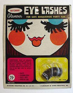 Eye Lashes 1960s