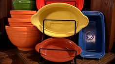 All about Homer Laughlin China, maker of Fiesta Dinnerware. Interview by WCHS ABC8 in WV.