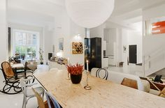 Friendly Swedish Home With A Distinctive Design Touch In Stockholm