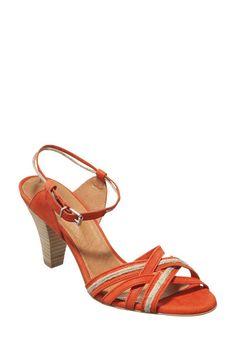 SESSUN Sandales À Talon En Cuir Hamptons 175 € #sandals #fashion #sessun