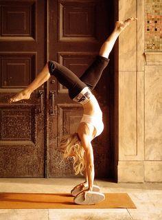 Photographer Kiesha Jean / photo shoot #Yoga  / Client Three Minute Egg / Model Carrie Carr /  Location downtown #Asheville , North Carolina