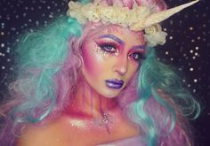 We've reached peak unicorn makeup and we can't even be mad at it.