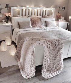 bedroom decor ideas for teens; Small and warm cozy bedroom i… cozy bedroom ideas; bedroom decor ideas for teens; Small and warm cozy bedroom ideas; Dream Rooms, Dream Bedroom, Pretty Bedroom, Fantasy Bedroom, Bedroom Simple, Female Bedroom, Cozy Bedroom, Lux Bedroom, Master Bedrooms