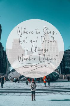 chicago winter outfits Where to Stay, Eat and Drink in Chicago: Winter Edition Chicago Travel, Travel Usa, Travel Tips, Chicago Trip, Nye Chicago, Travel Goals, Zermatt, Winter Travel, Summer Travel