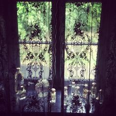 Lace Curtains From Lark Vintage - Pearl Lowes Vintage Home
