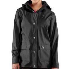 New Black Women's S Small Carhartt Medford Waterproof Jacket Coat #Carhartt #BasicJacket
