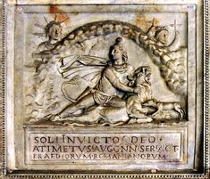 Goddess Mithra, same as Sun god Apollo and transformed in the Roman culture name is God Sol İnvictus Ancient Near East, Ancient Rome, Culte De Mithra, Rome Antique, Empire Romain, The Good Shepherd, Daughters Of The King, Roman Empire, Deities