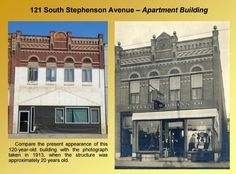 121 S Stephenson Ave in Iron Mountain - 1913 vs now http://dcl-lib.flolinemedia.net/images/files/Genealogy/remearpt1.pdf … #IronMountain