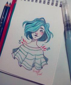 Quick sketch before sleep