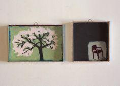 albero e sedia