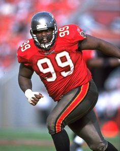 Warren Sapp  Position: Defensive tackle  Height/playing weight: 6-2, 300  Tampa Bay Bucs