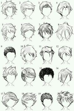 Frisur Zeichnen