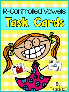 Vowels: Fluency Task Card R-Controlled Vowels: Fluency Task Card - easy prep and easy way to strengthen your student's fluency skills. paidR-Controlled Vowels: Fluency Task Card - easy prep and easy way to strengthen your student's fluency skills. R Controlled Vowels Activities, Vowel Activities, Language Activities, Reading Activities, Reading Fluency, Kindergarten Reading, Teaching Reading, Teaching Ideas, Student Teaching