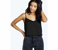 boohoo Nicole V Neck Crop Woven Cami - black azz35070 Transparent evening tops are everywhere this season. Shake it up in sheer shell tops, panelled shirts and cutting-edge crops. Add attitude in an A line skirt and slinky strappy heels . Statement separ http://www.comparestoreprices.co.uk/womens-clothes/boohoo-nicole-v-neck-crop-woven-cami--black-azz35070.asp