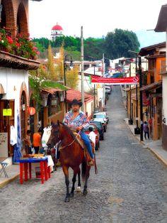 Malinalco Street 3 by AZRetoucher.