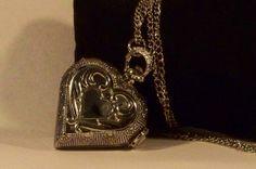 Heart Pocket Watch by Treasuregiftsandmore on Etsy, $19.00