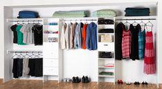 A wardrobe organisation solution from @Bunnings Bunnings.com.au
