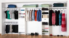 A wardrobe organisation solution from @Bunnings Bunnings.com.au