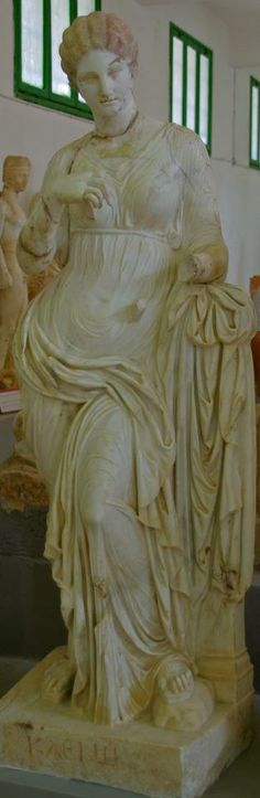 Muse of History - at the Museum of Cyrene, Libya