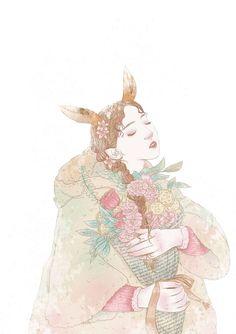 Flower girl    elk
