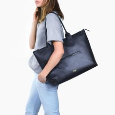 Style meets function in this lightweight Italian leather laptop tote with an exterior zipper and beautifully engineered interior. Free shipping.
