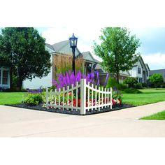 Barrette Outdoor Living Corner Accent Fence, 2-Pk - Wicker