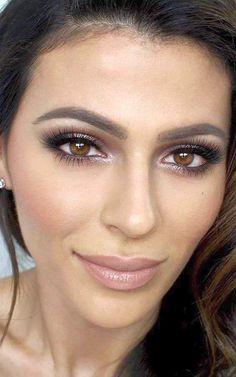 nice Красивый макияж для карих глаз — Пошаговое фото вечерних и дневных вариантов