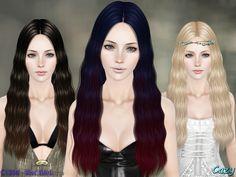 Blackbird Hair Set by Cazy - Sims 3 Downloads CC Caboodle