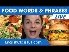 Must-Know English Food Words and Phrases - Learn English Vocabulary