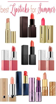 The best lipsticks to add to your makeup collection for summer: a list of the best nude and bright lipsticks
