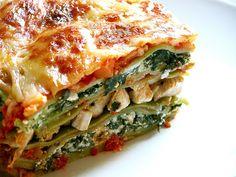 Abuela Chuchi: Lasagna Light - riquisima!