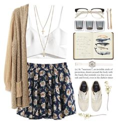 Whale Song by angelloch on Polyvore featuring polyvore fashion style H&M Jack Wills Juicy Couture Madewell Harrods Leonardo OKA clothing casual simple