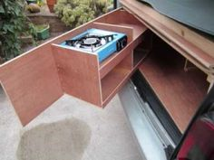 car boot camping kitchens - Google Search