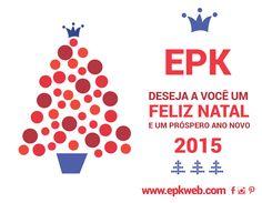 Um Feliz Natal para todos! é o que a EPK deseja!